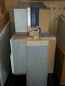 Slika1 - Prerez vgradnje stanovanjskega okna